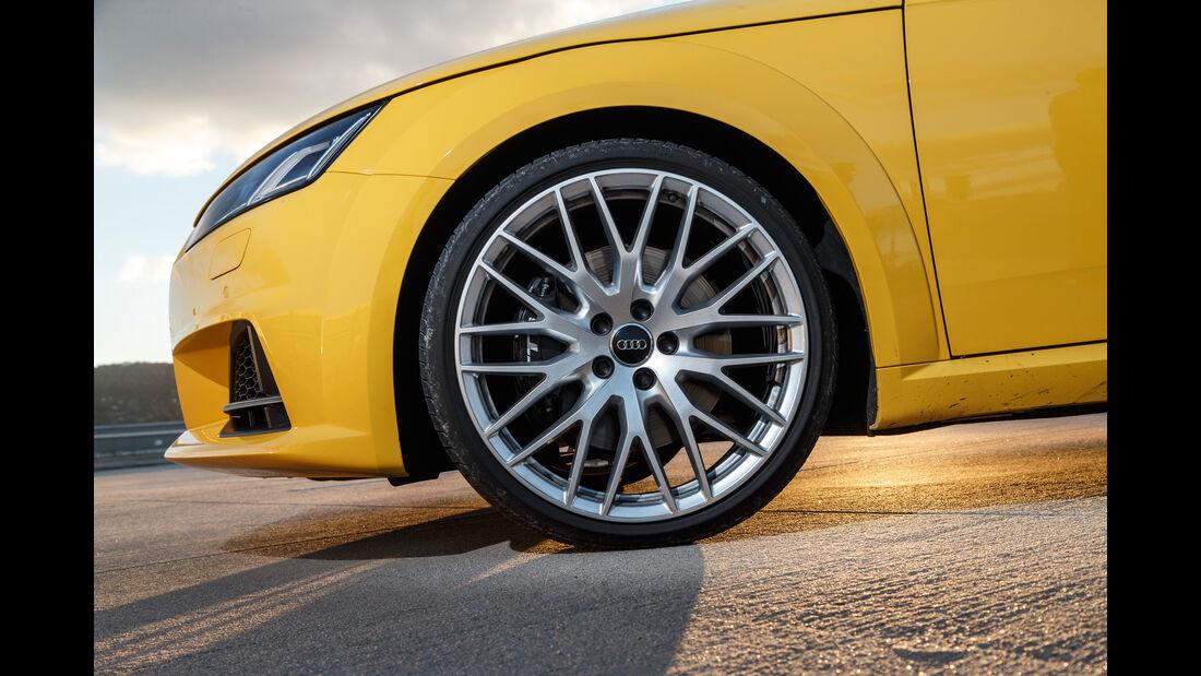 Audi TTS Coupé, Rad, Felge