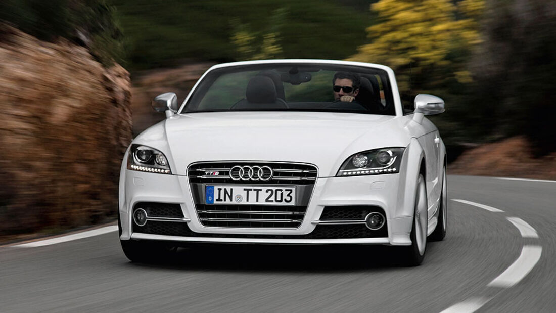 Audi TTS Coupé Roadster Facelift 2010