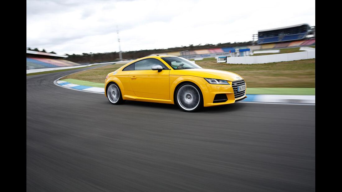 Audi TTS Coupé, Seitenansicht