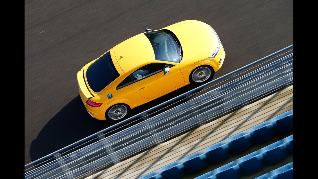 Audi TTS, Draufsicht