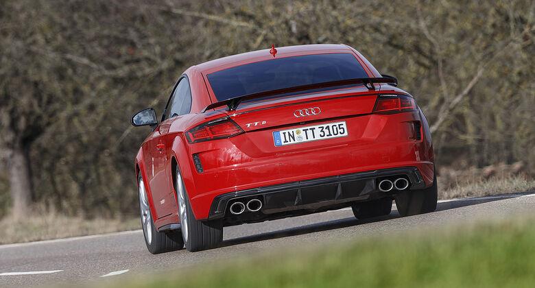 Audi TTS, FV Facelift, Exterieur