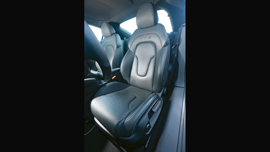 Audi TTS, Fahrersitz