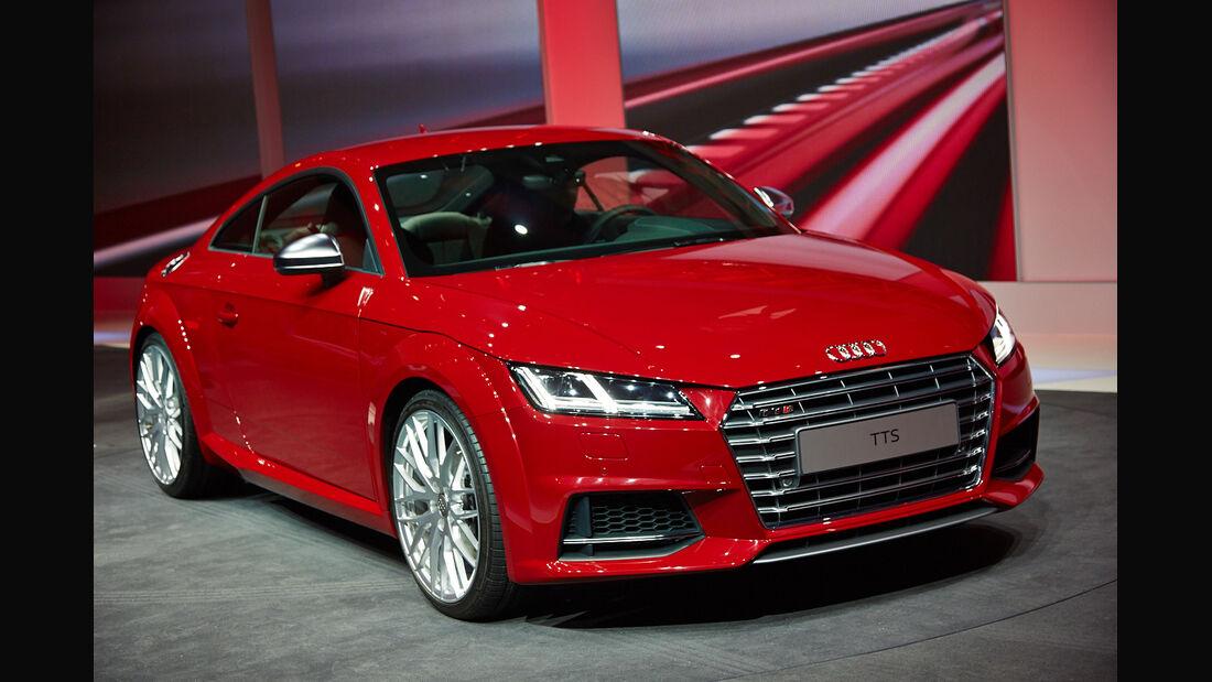 Audi TTS, Genfer Autosalon, Messe 2014