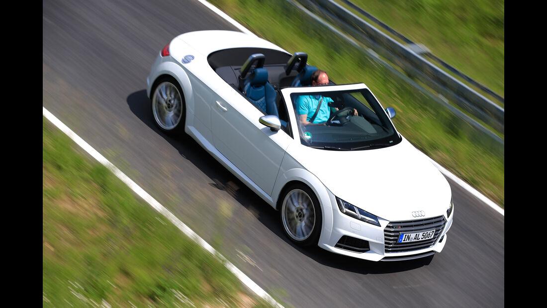 Audi TTS Roadster 2.0 TFSI, Draufsicht