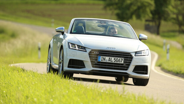 Audi TTS Roadster 2.0 TFSI, Frontansicht