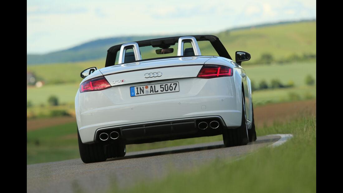 Audi TTS Roadster 2.0 TFSI, Heckansicht