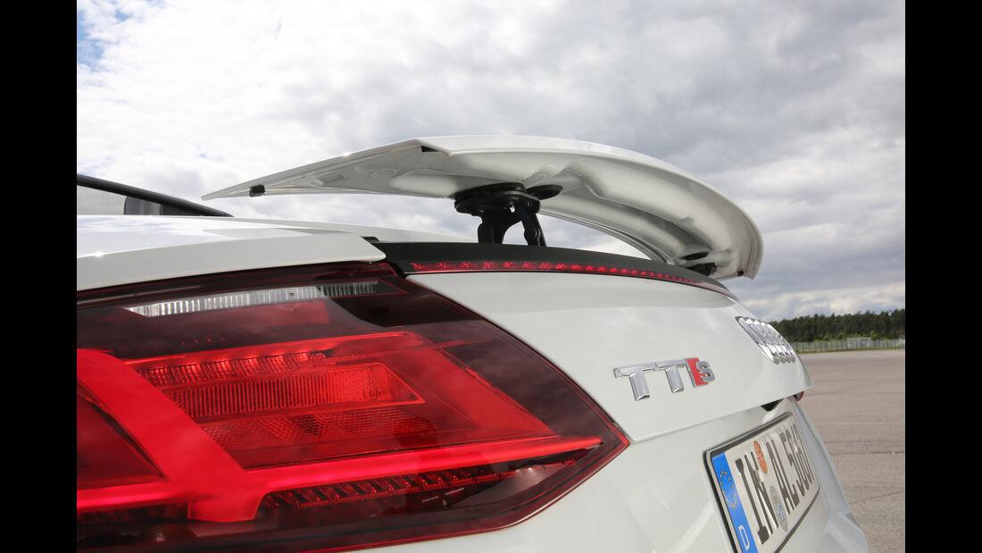 Audi TTS Roadster 2.0 TFSI, Heckspoiler