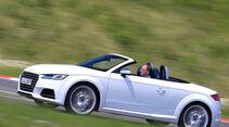 Audi TTS Roadster 2.0 TFSI, Seitenansicht