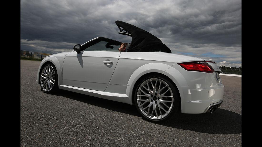Audi TTS Roadster 2.0 TFSI, Verdeck öffnet