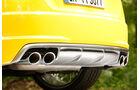 Audi TTS Roadster, Endrohre