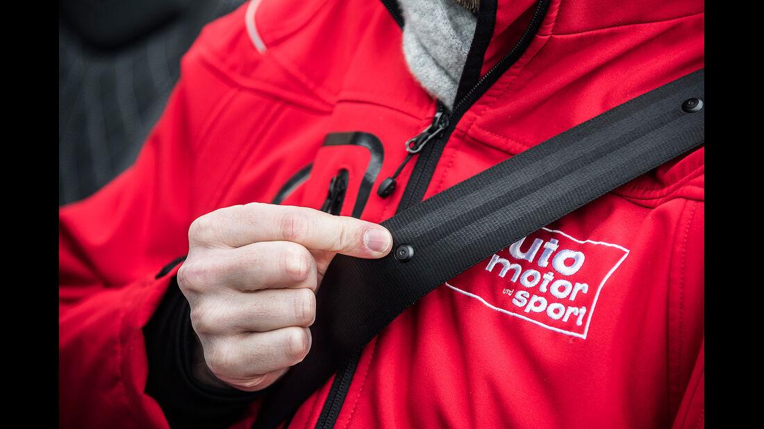 Audi TTS Roadster, Gurt, Mikrofon