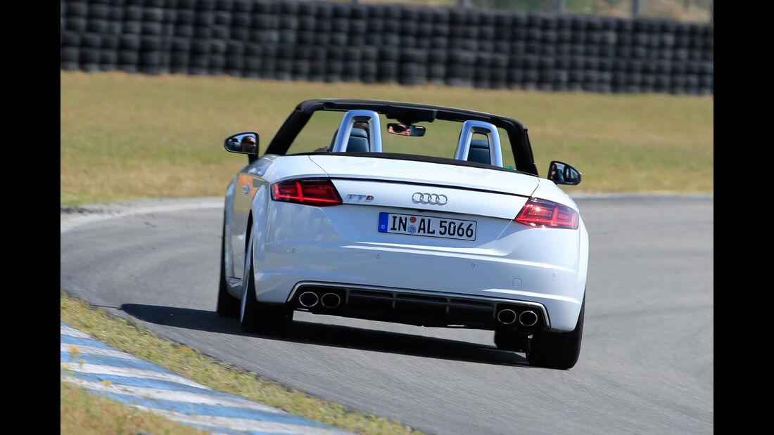 Audi TTS Roadster, Heckanasicht