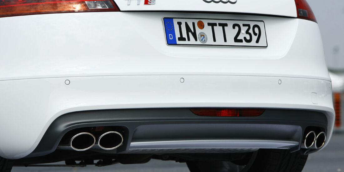 Audi TTS Roadster Heckpartie