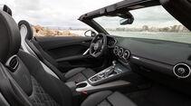 Audi TTS Roadster, Innenraum, Cockpit