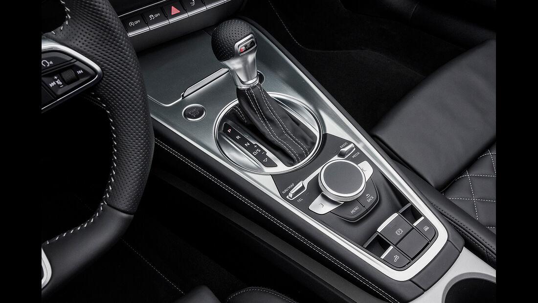 Audi TTS Roadster, Mittelkonsole
