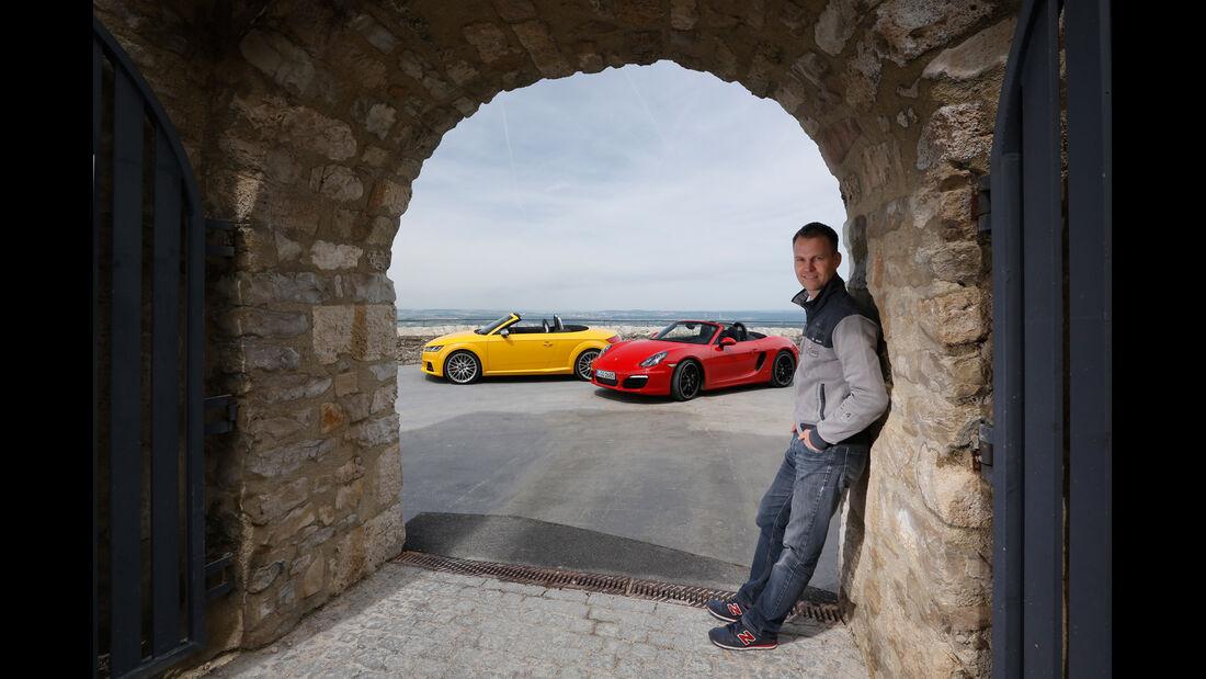 Audi TTS Roadster, Porsche Boxster S, Christian Gebhardt