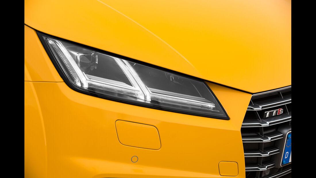 Audi TTS Roadster, Scheinwerfer