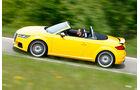 Audi TTS Roadster, Seitenansicht
