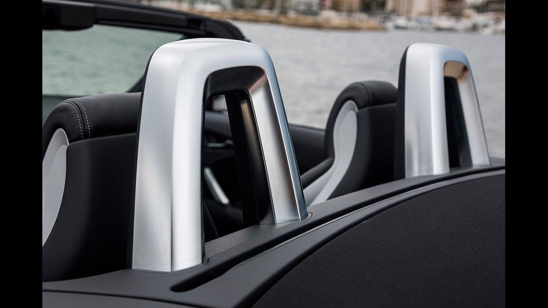 Audi TTS Roadster, Überrollbügel