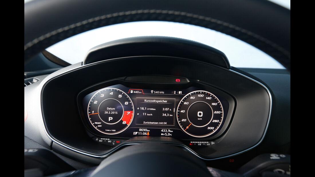 Audi TTS, Rundinstrumente