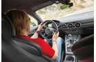 Audi TTS S tronic, Cockpit, Fahrersicht