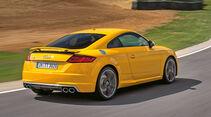 Audi TTS S tronic, Heckansicht