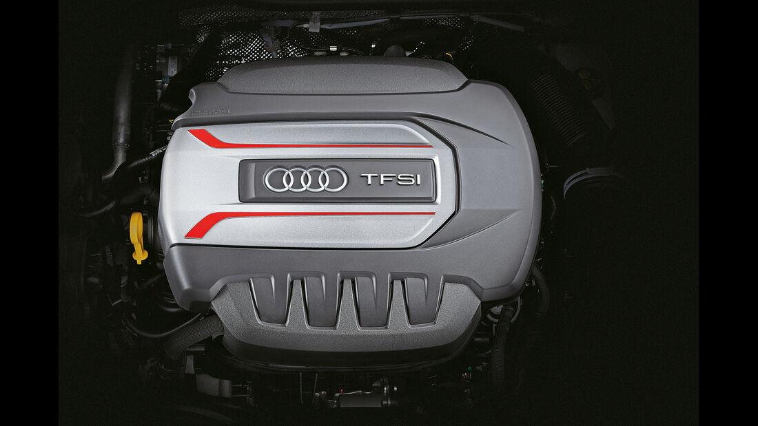 Audi TTS S tronic, Motor