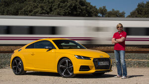 Audi TTS S tronic, Seitenansicht, Marcus Peters