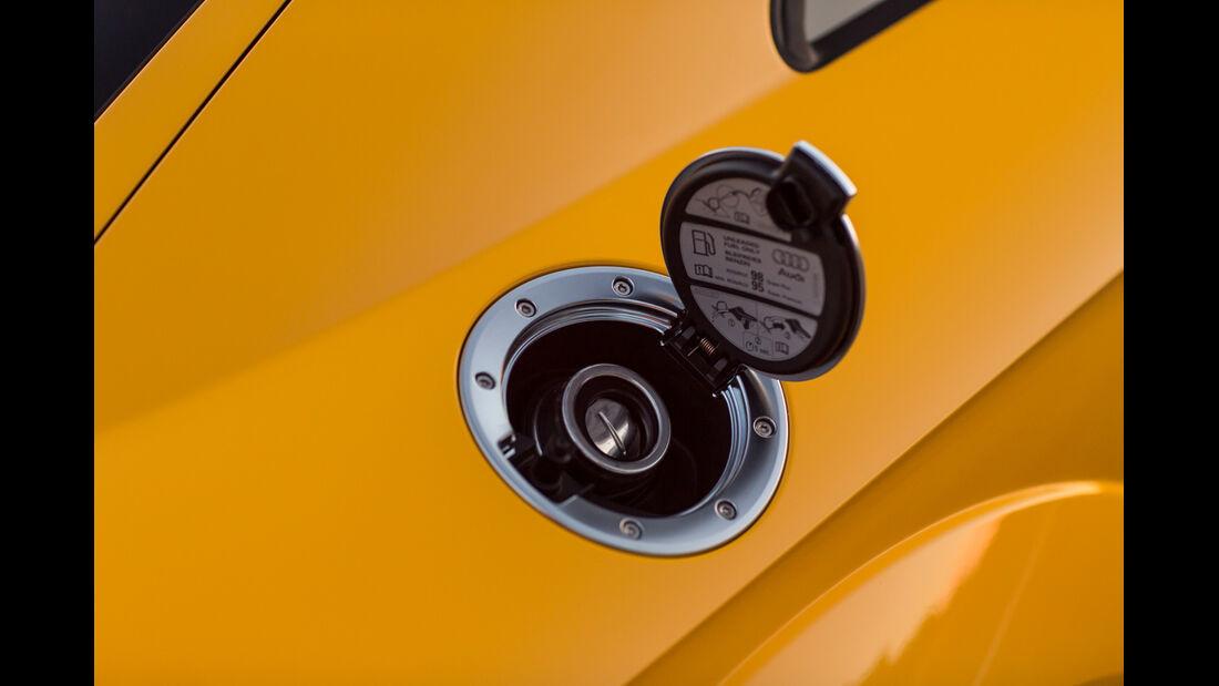 Audi TTS S tronic, Tankklappe