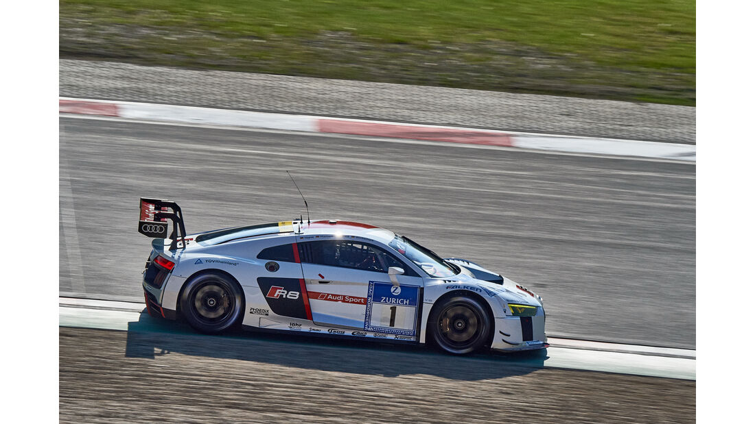 Audi Team Phoenix - Audi R8 LMS - #1 - 24h-Rennen Nürburgring 2015 - Top-30-Qualifying