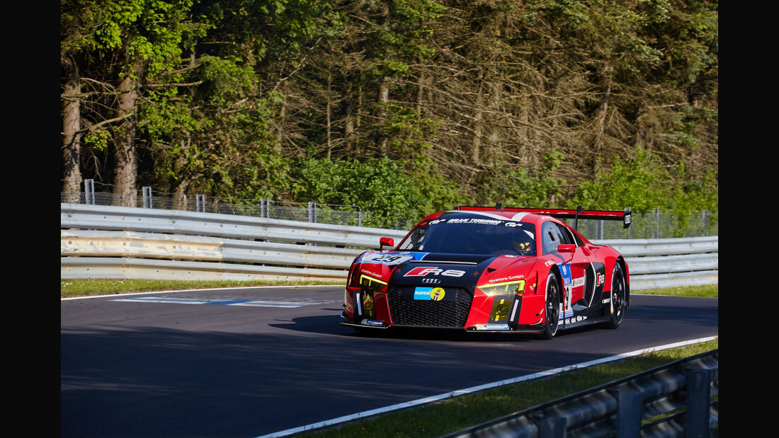Audi Team WRT - Audi R8 LMS - #29 - 24h-Rennen Nürburgring 2015 - Top-30-Qualifying