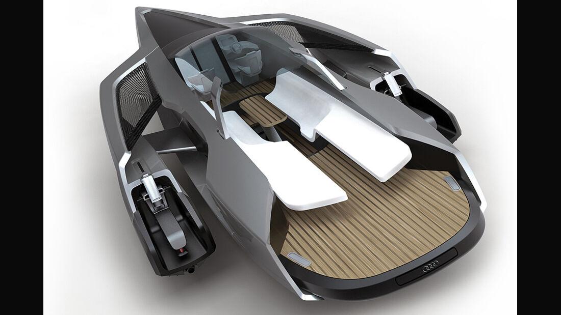 Audi Trimaran Yacht, Yacht, Sportboot
