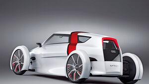 Audi Urban Concept, Heck