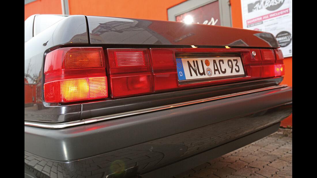 Audi V8, Heck, Heckleuchte