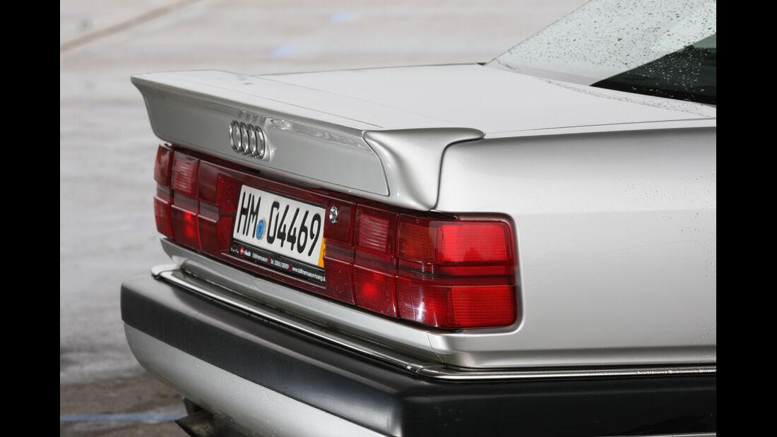 Audi V8, Heckspoiler