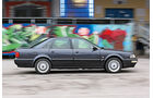 Audi V8, Seitenansicht
