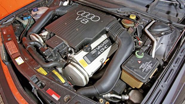 Audi V8, Typ 4C, 1988–1994, Motor
