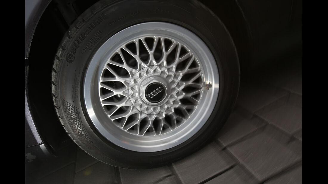 Audi V8, Typ 4C, 1988–1994, Rad, Felge