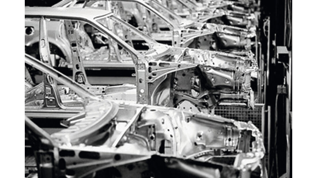 Audi Vollverzinkung