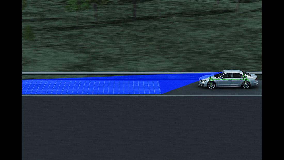 Audi Vorausschauendes Fahrwerk