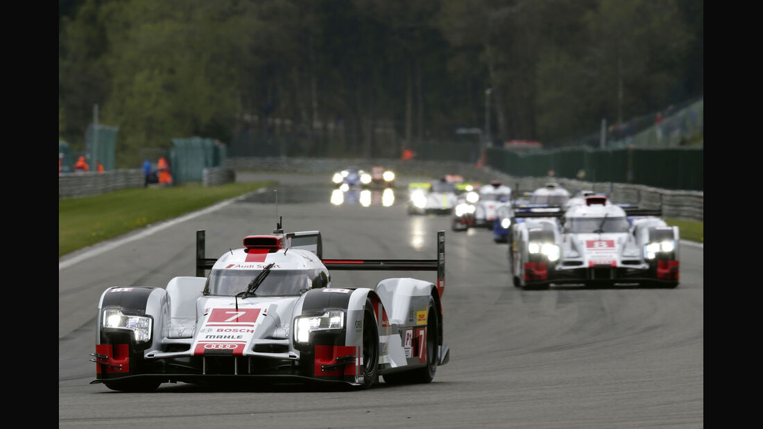 Audi - WEC - 6h - Spa-Francorchamps - 2015