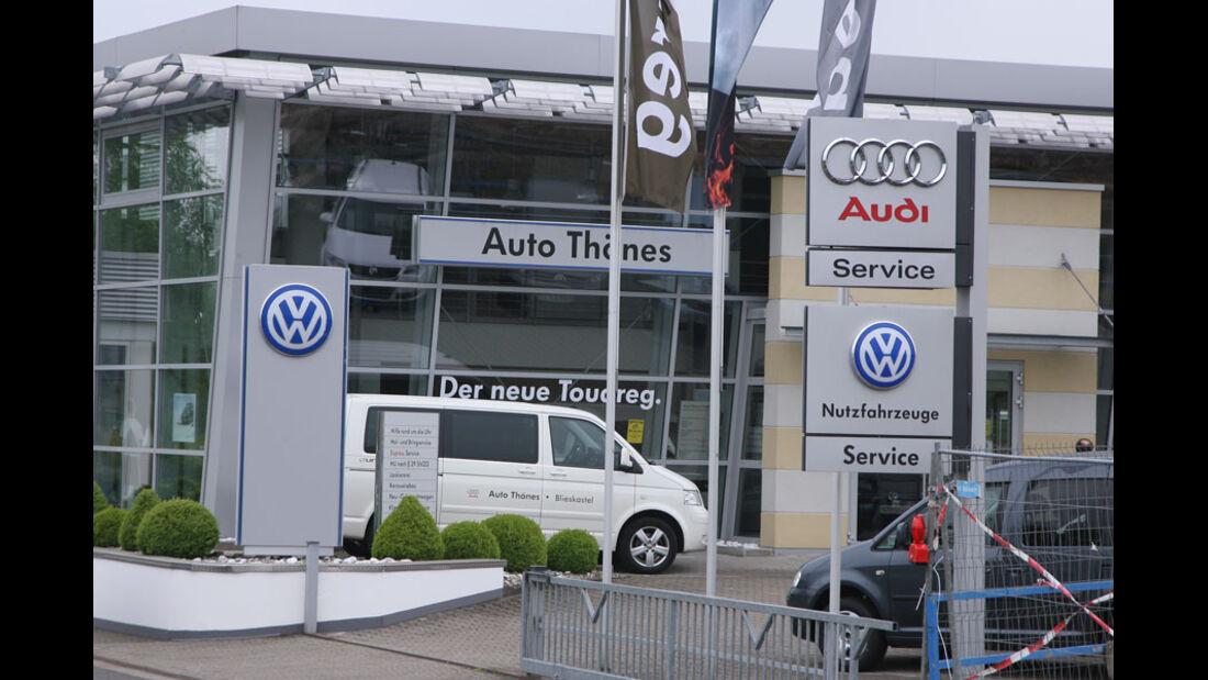 Audi-Werkstatt, Auto Thönes
