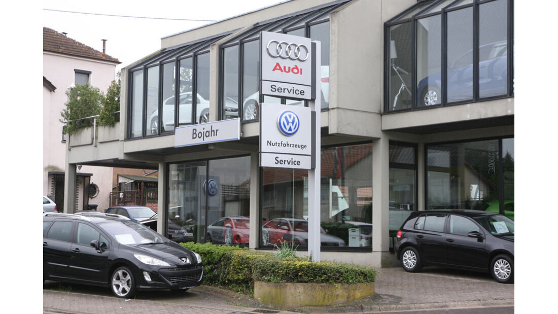 Audi-Werkstatt, Autohaus Bojahr