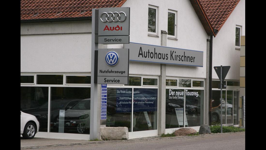 Audi-Werkstatt, Autohaus Kirschner