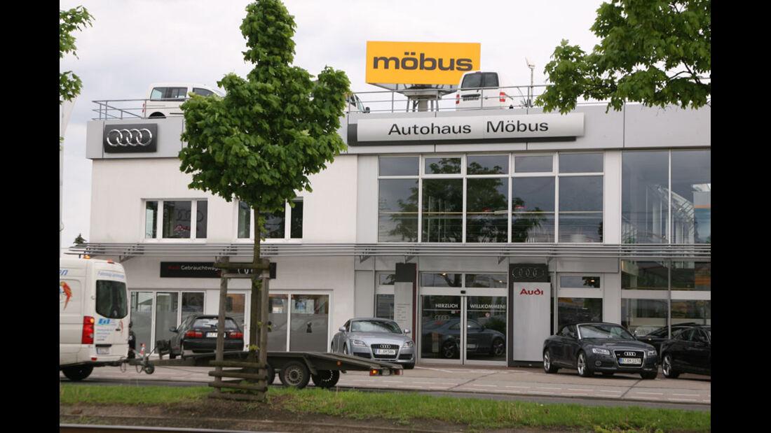 Audi-Werkstatt, Autohaus Möbus