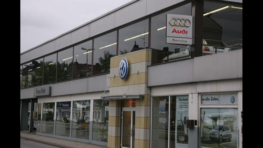 Audi-Werkstatt, Autohaus Rath
