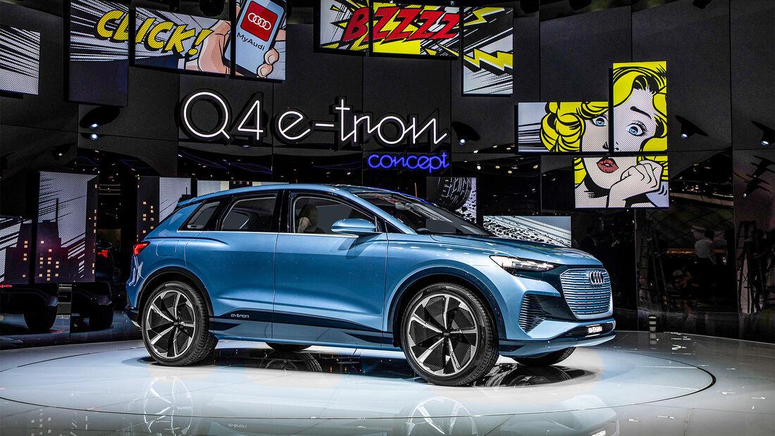 Audi Zukunft, Audi Q4 E-Tron