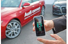 Audi connect, Testwagen, Smartphone