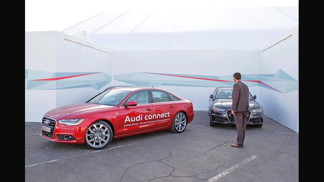 Audi connect, Testwagen