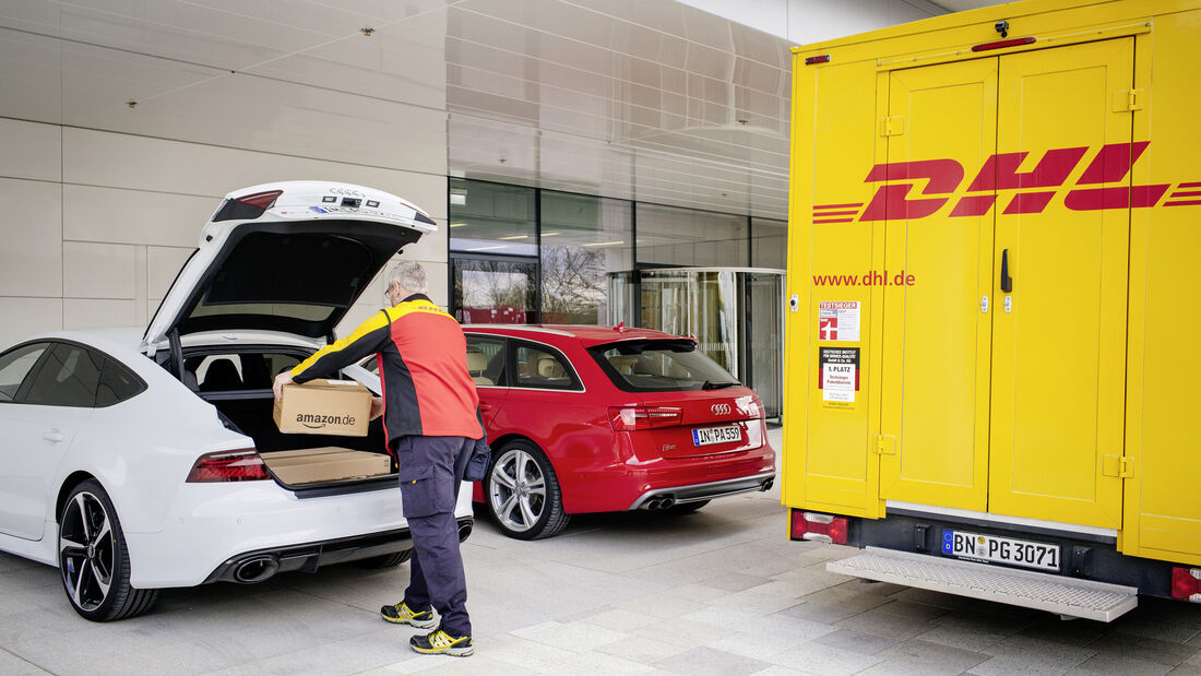 Audi connect easy delivery